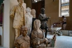Statues, Old Havana