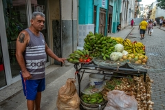 Street Vendor, Old Havana