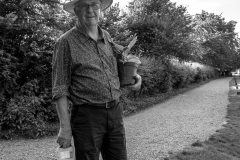 Lacock Man With Plant