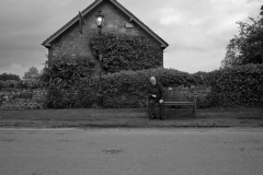 Man On Lacock Bench