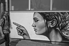 Pointing Grafitti