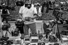 Portobello Man With Cameras
