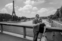 Selfie Couple Paris