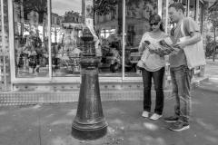 Tourists Paris