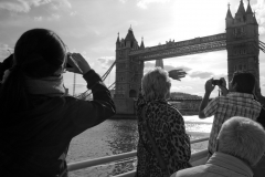 Tower Bridge From Boat