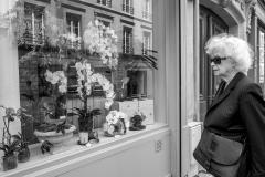 Woman Orchids Paris
